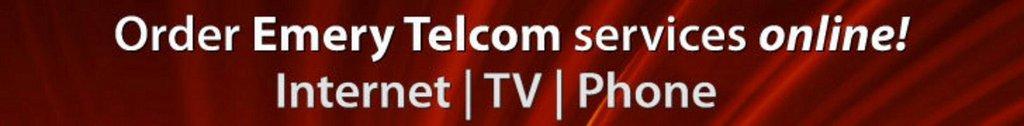 Order Emery Telcom Services Online!